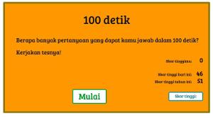 100 detik