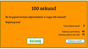 100 sekund