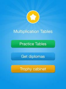 Table de multiplication App Exemple 1