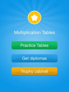 Tablas de multiplicar ejemplo 1
