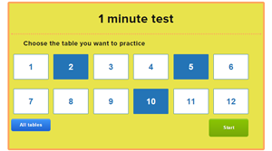 Times Tables Speed Test X Timestables Com